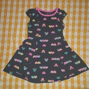 Disney Minnie Mouse and hearts dress 4t